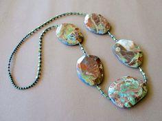 Necklace Ocean Jasper.
