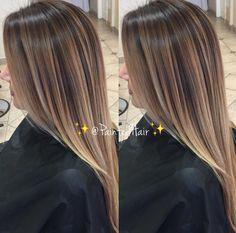 Brown Blonde Hair, Hair Color For Black Hair, Brunette Hair, Hair Color Streaks, Hair Color Highlights, Mocha Hair, Sombre Hair, Light Hair, Great Hair