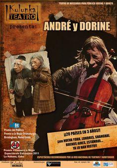 ANDRÉ Y DORINE regresa al Teatro Fernán Gómez
