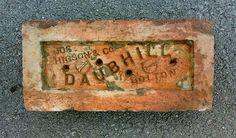 DAUBHILL brick, England.