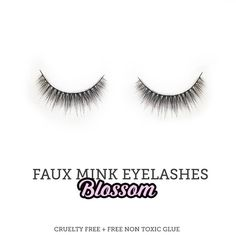 Faux Mink False Eyelashes - Blossom from Sugar Venom | Find more cruelty-free beauty @Quirkist |