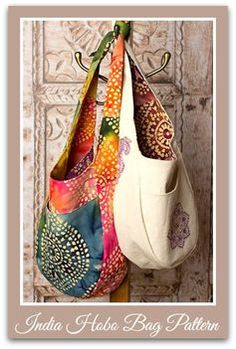 Beginner's Free Fat Quarter Purse Pattern + 8 More Bags to Sew for Spring | PatternPile.com