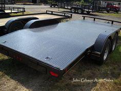 2015 Flat Bed Trailers #JohnGibsonAutoSalesInc #Cars #Trucks #Trailers #RV