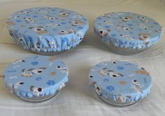 Cute Doggies Eco Friendly ReUsable Bowl Covers