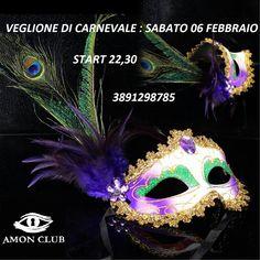 AMON CLUB PRIVE: VEGLIONE DI CARNEVALE