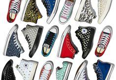 Converse vient de lancer en France sa plateforme, Blank Canvas, qui permettra à chacun de personnaliser à l'infini sa paire de Chuck - sneakers