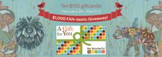It's time to celebrate our almost 10,000 fans on Facebook with a $1,000 FAN-tastic Giveaway!