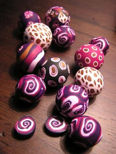 Polymer Clay Jewelry - used to love doing this when I was in middle school :-D