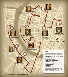 Les neufs temples les plus sacrés de Bangkok