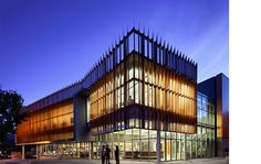Located at the highly visible corner of Wisconsin Avenue and Albemarle Street in DC, the new two-story, 23,000 gsf Tenley-Friendship Neighborhood Library is inspired by a complex series of overlays drawn from the urban fabric of Tenleytown and Washington, DC. Sustainability, daylighting and civic place-making were significant drivers in the development of the library's design. The new facility provides a range of services and features including Adult Studies and Computers, Children's ...