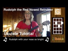 Rudolph the Red Nosed Reindeer Ukulele - 21 Songs in 6 Days: To learn how to play the ukulele in easy ways visit us at - http://ukulele.io/free-stuff-offer/