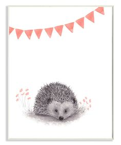 Look at this Hedgehog & Pink Banner on #zulily today!