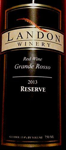 2008 Landon Winery Reserve Grande Rosso Red Wine, Texas 750 mL ** Want additional info? Click on the image.