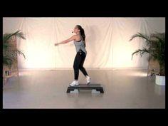 Step Aerobic Choreografie 3 mit Andrea - YouTube