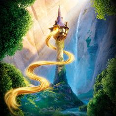 tangled <3 i really wish i knew where this print was from...i'd love to buy one.