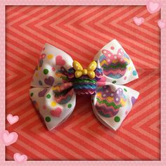 Minnie Mouse bow  on Etsy, $7.00