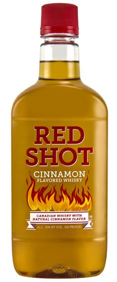 Red Shot Cinnamon Flavored Whisky, a Whisky Spirits wine from Canada, by Crosby Lake Spirits Company