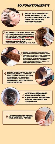 Keratin-Kur (2x Set) [Dauerhaft glatte Haare] – The Face Shop The Face Shop, Keratin Kur, Skin Tips, Split Ends, Sleek Hair, Skincare Routine, Nice Asses