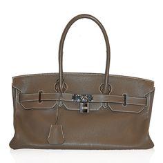 Hermes Taupe JPG 42Cm Birkin Shoulder Bag