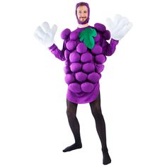 Adult Purple Grapes Costume