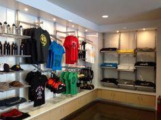Merchandise Retail Display - Golds Gym EpiCenter, Charlotte NC