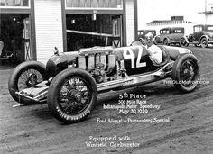 pinterest.com/fra411 #vintage #racing #car - Supercharged Duesenberg