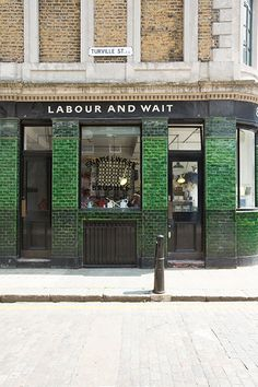 Labour & Wait | Shoreditch, London