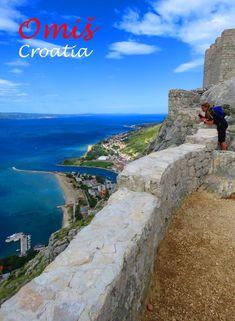 Views over Omis: http://bbqboy.net/visit-omis-croatias-adventure-capital-favorite-small-town-croatia/ #omis #croatia