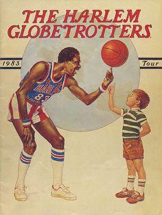 The Harlem Globetrotters 1983 Tour Booklet Basketball Tumblr, Love And Basketball, Sports Basketball, Sports Art, Basketball History, College Basketball, Basketball Players, Harlem Globetrotters, The Sporting Life