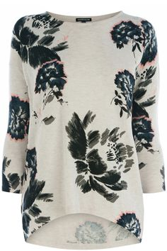 Clothing | Pink Fondant print jumper | Warehouse