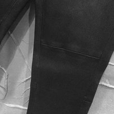 ISAAC SELLAM Leather .cotton Mixed Trouser Training P.
