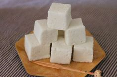 These marshmallows, a kind of mochi/marshmallow hybrid, are tasty eaten plain, added to hot cocoa, or toasted in the toaster oven with graham crackers and vegan chocolate.