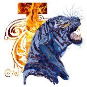 Tiger_in_Camouflage von artHawk | Spreadshirt