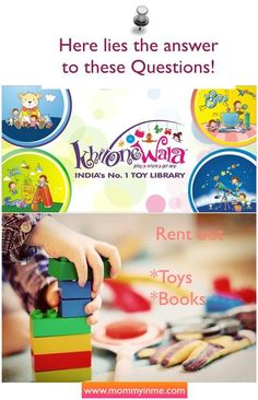 "From where to rent best toys and books in India : Hey Mama's and Papa's, have you succumbed to the ever increasing demand of kids for toys, games and colorful story books? Are you burning your pockets too frequently only to see kids getting bored in 10-15 days with their new games? Then you need to check on India's No.1 Toy Library ""Khilonewala""! Read on a ""must-have"" service for Parents and Kids right now. An answer to - Where to rent toys and books in #india  #toys #games #books #renting"