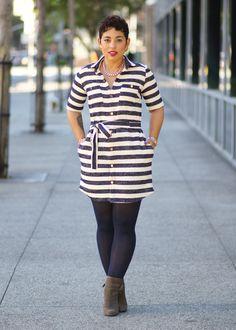 DIY Shirt Dress + Pattern Review S8014 - Mimi G Style