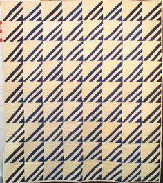 """Roman Stripe"" (Note 2 different blues)"