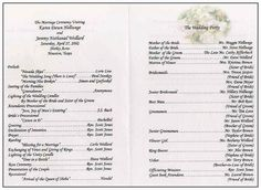 wedding ceremony outline | Wedding Outline by Brian Sullivan You Can ...