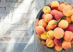 A basket of fresh fruit. | Lonny.com
