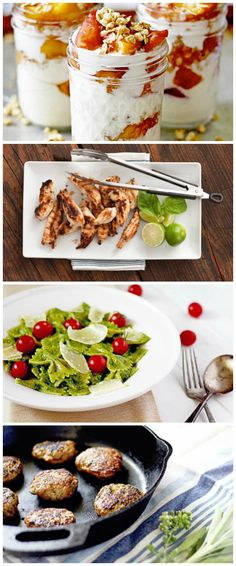 A real food-clean eating menu your kids (or hubby!) will actually eat! #cleaneating #healthy