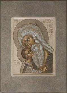 Sacred Heart Tattoos, Byzantine Icons, Art Icon, Orthodox Icons, Christian Art, Religious Art, Watercolor Art, Folk Art, Lion Sculpture