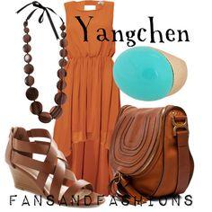 """Yangchen"" by sunshineowlnew on Polyvore"