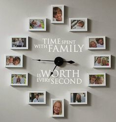 20% off #uppercaseliving #clocks with promo code: ULHowDoesShe !  Get them before they are gone.. #homeandgarden #familywall #photowall #clock #decor  Click here to order:  http://brookebeney.uppercaseliving.net/Category.m?CategoryId=275&CatalogId=DEFAULT