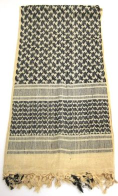 Desert Shemagh Keffiyeh Tactical Military Scarf Tan Army Surplus