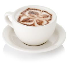 Fancy Cappuccino with Latte Art (£21) ❤ liked on Polyvore featuring home and home decor