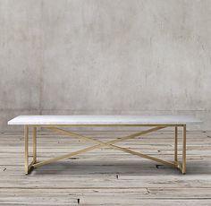 Uhhhhh waaannnnttt! Torano Marble Rectangular Dining Table