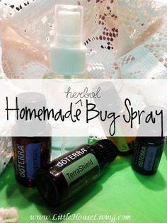 Natural Bug Spray Using Terrashield Essential Oil Add 10