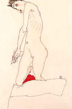'Intercepted by Gravitation' - 'Egon Schiele'