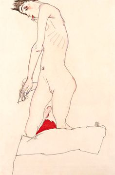 'Intercepted by Gravitation' - 'Egon Schiele'