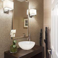 #susanglickinteriors #powderroom #vessel sink #zen #modern #clean #interiors #luxury #bathroom #remodel #interiordesignideas #interiordesign #inspiration #houzz #instadesign