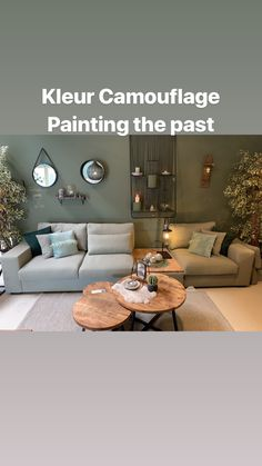 Painting the past Camouflage, The Past, New Homes, Couch, Healthy, Kitchen, Painting, Furniture, Home Decor